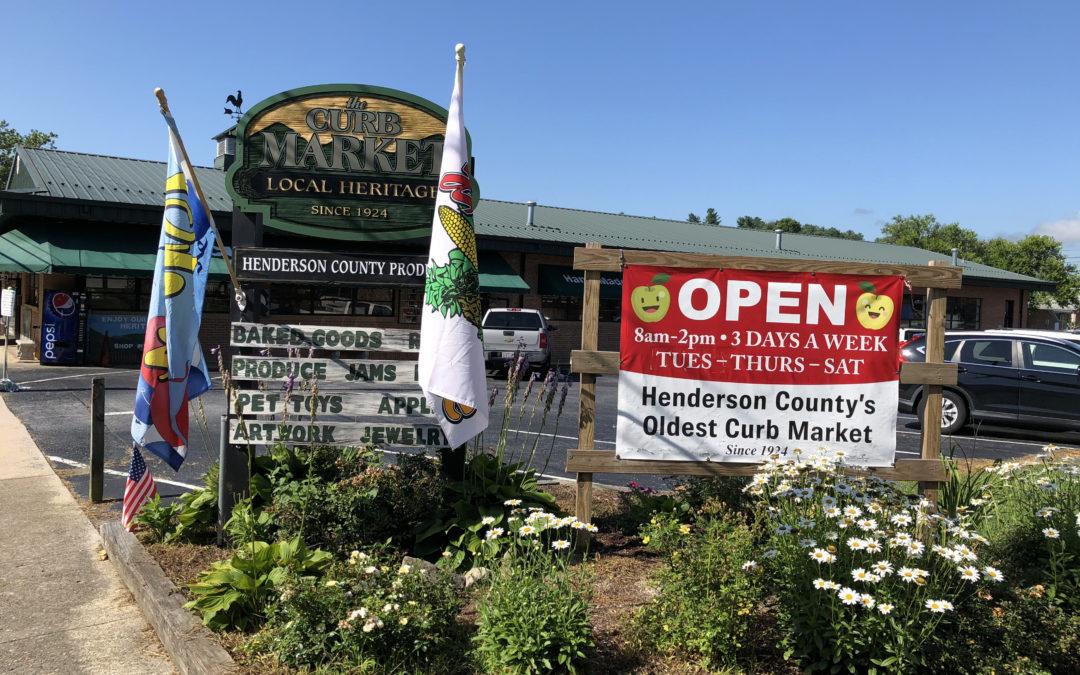 Henderson County Curb Market Ol' Timey Day