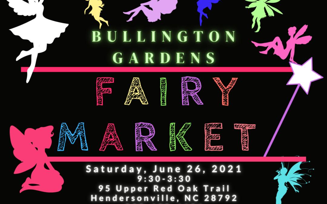 Bullington Gardens Fairy Market