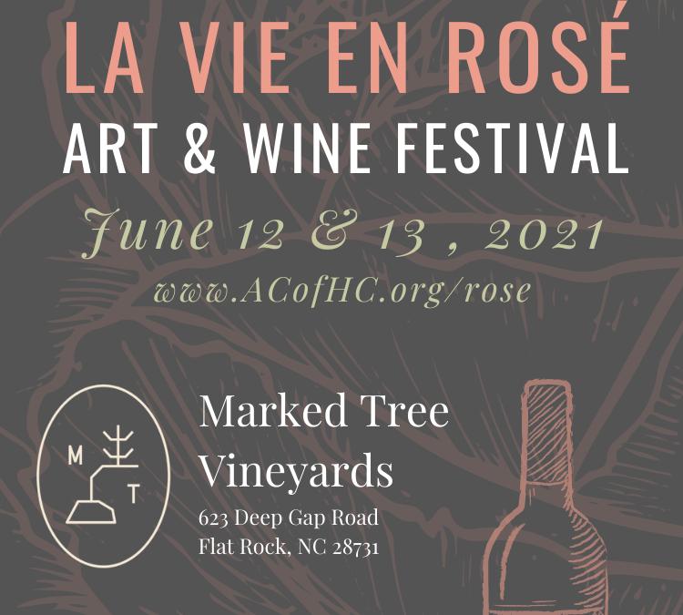 La Vie en Rosé: Art & Wine Festival