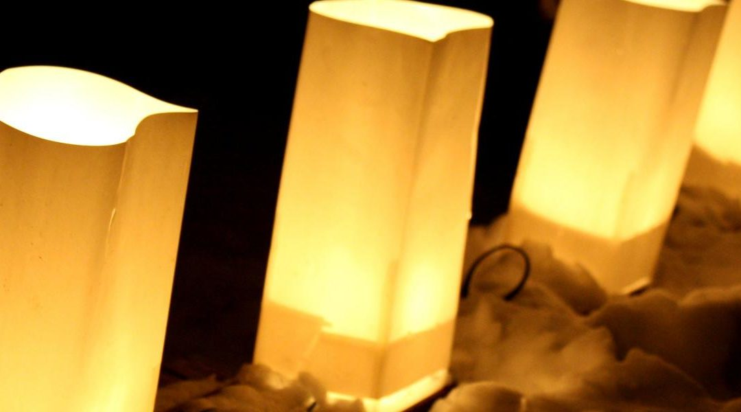 Luminary Night in Downtown Hendersonville