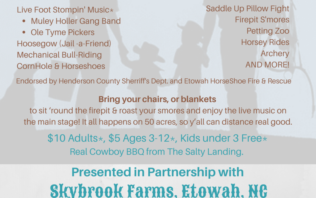 Giddy-Up Fandango: A benefit for First Contact Addiction Ministries