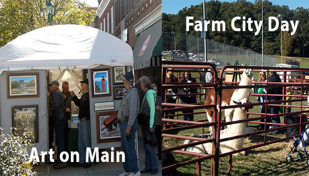 Art on Main and Farm City Day