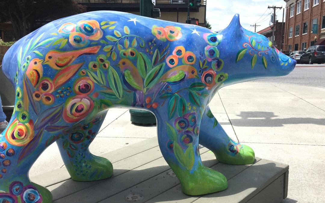 Bearfootin' Public Art Walk