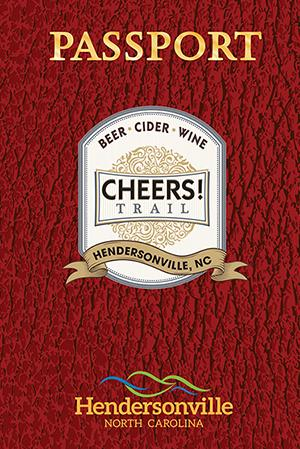 Image of a Hendersonville Cheers Trail Passport