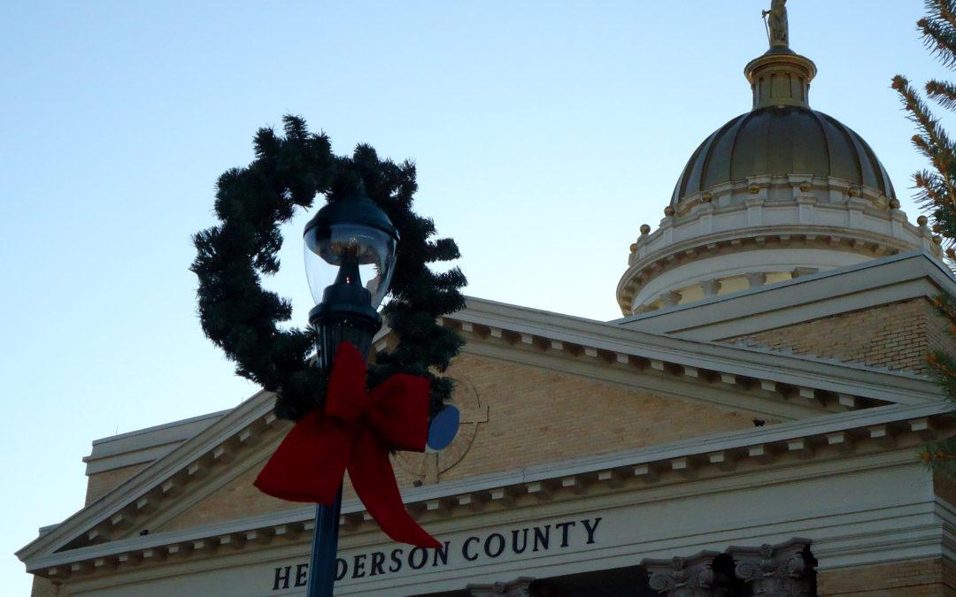 Holidays in Hendersonville