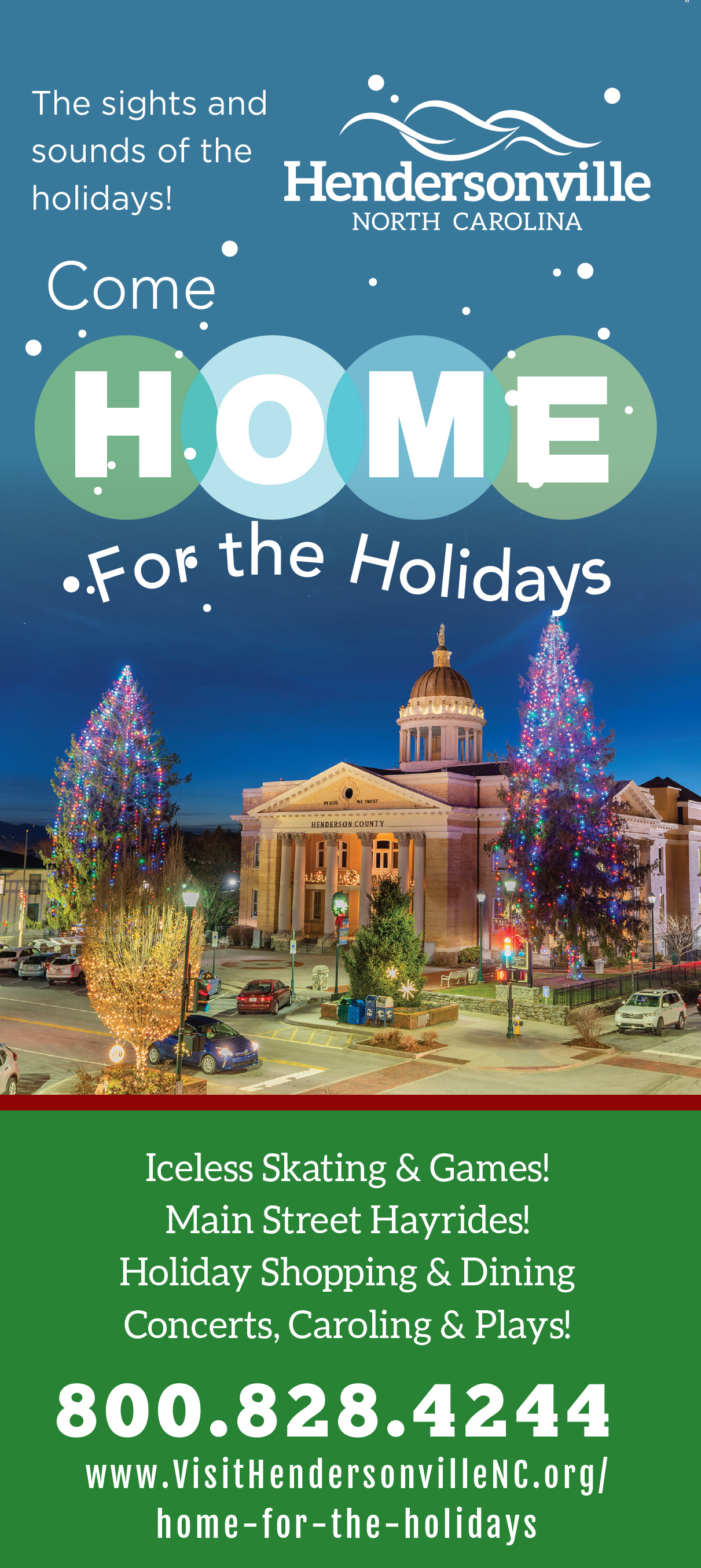 Hendersonville Nc Christmas Events 2020 Home for the Holidays   Visitors Information Center