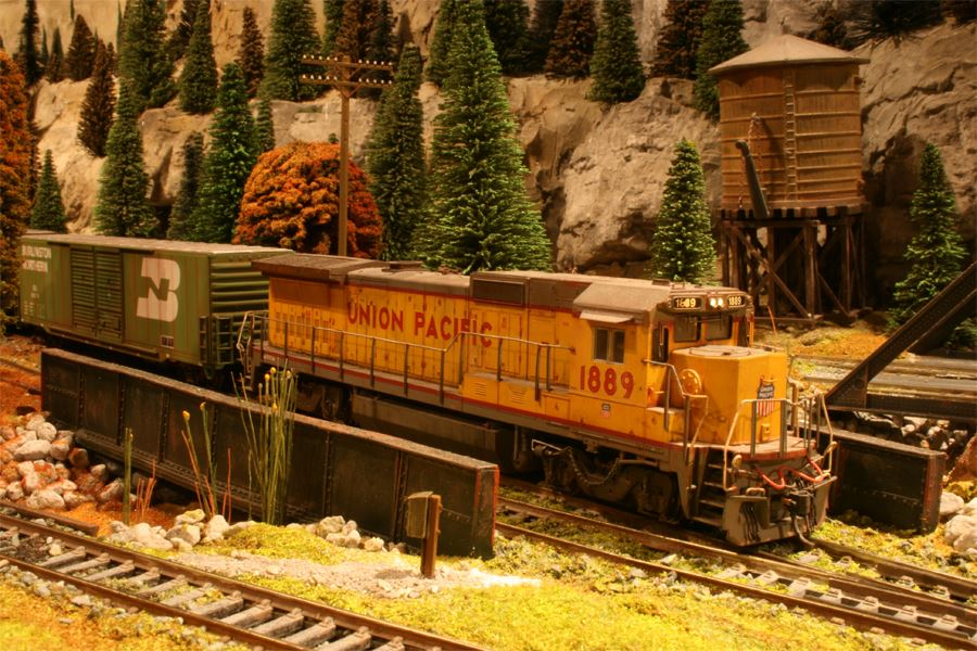 WNC Model Train Show