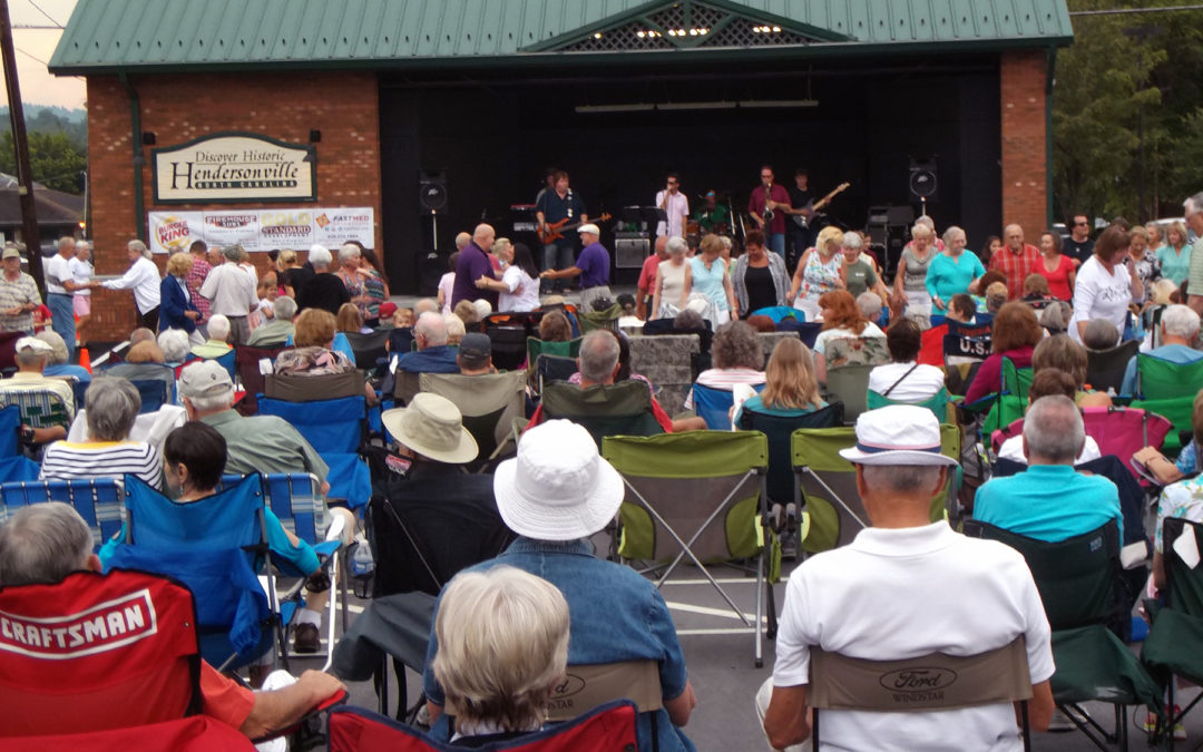 Music on Main features Johnnie Blackwell Band